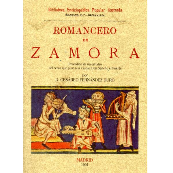 Romancero de Zamora. Librería. Semuret. Zamora